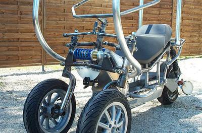 whoop tricycle moteur lectrique train avant jbb. Black Bedroom Furniture Sets. Home Design Ideas